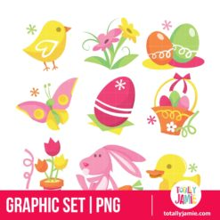Easter Icons - PNG Clip Arts