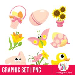 Easter Icons 2 - PNG Clip Arts