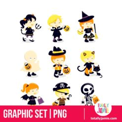 Halloween Kids Costume Icons