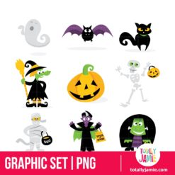 Halloween Monsters Icons