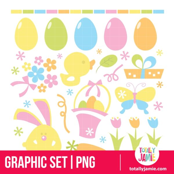 Retro Easter Set