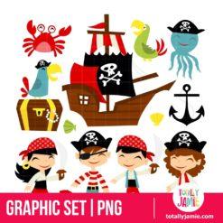 Retro Pirate Adventure Set