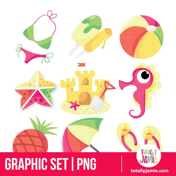 Tropical Twist Icons