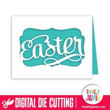 A2 Easter Fancy Title Card
