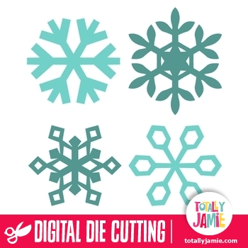 assorted christmas snowflakes 5