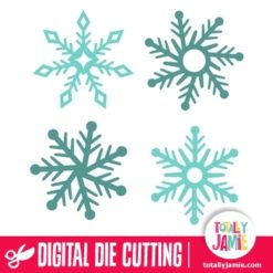 Assorted Christmas Snowflakes 6