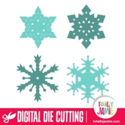 Assorted Christmas Snowflakes 8
