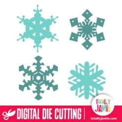 Assorted Christmas Snowflakes 9