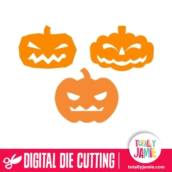 Assorted Halloween Pumpkin Jack-O-Lantern Set