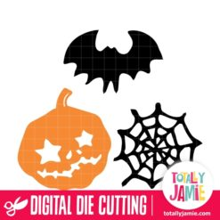 Assorted Halloween Set 7 - SVG Cut Files