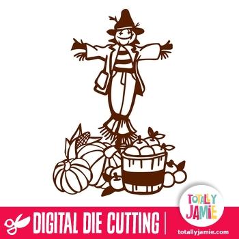 Autumn Happy Scarecrow Harvest