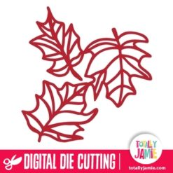 Autumn Leaves Cluster - SVG Cut Files
