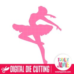 Ballerina Dancer 1 - SVG Cut Files