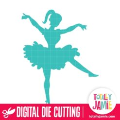 Ballerina Dancer 2 - SVG Cut Files
