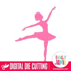 Ballerina Dancer 4 - SVG Cut Files
