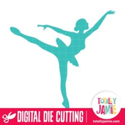 Ballerina Dancer 5 - SVG Cut Files