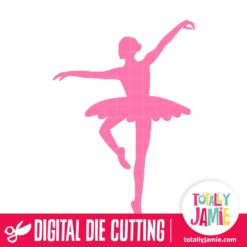 Ballerina Dancer 6 - SVG Cut Files
