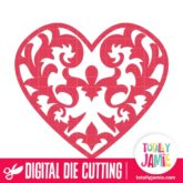 Baroque Heart 2 - SVG Cut Files