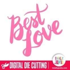 Best Love Hand Lettering Brush Script Title
