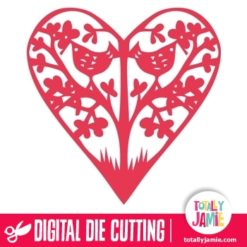 Bird Tree Heart - SVG Cut Files