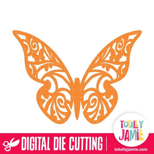 Butterfly Filigree 15