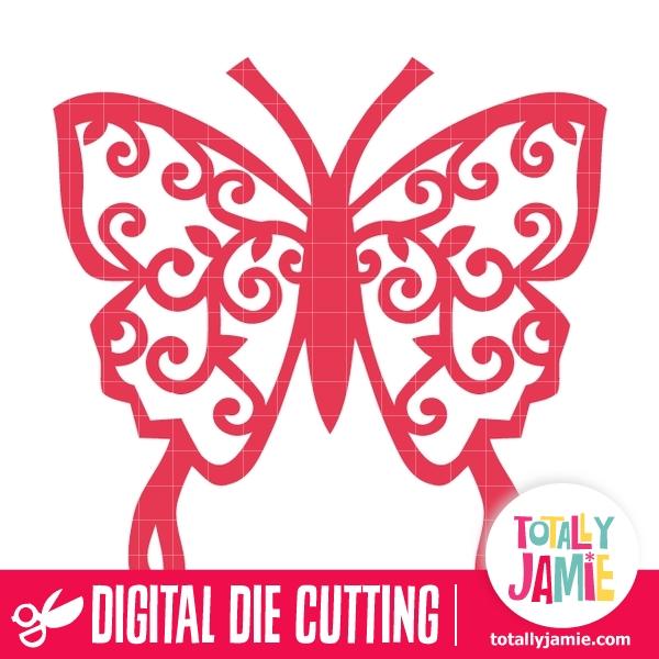 Butterfly Filigree 18