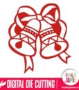 Christmas Bell Digital Die Cutting Files