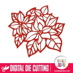 Christmas Poinsettia - SVG Cut Files