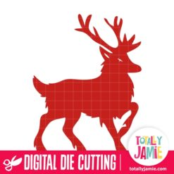 Christmas Reindeer 1 - SVG Cut Files