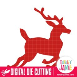 Christmas Reindeer 2 - SVG Cut Files