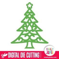 TJ-SVG-christmas_tree_flourish_ornament_2 - SVG Cut Files