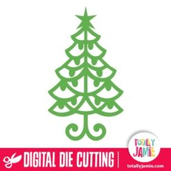 TJ-SVG-christmas_tree_flourish_ornament_3 - SVG Cut Files
