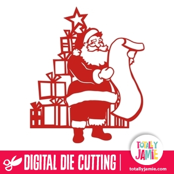 Christmas Tree Santa List