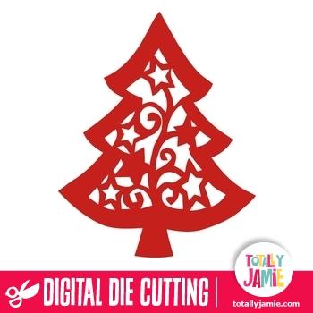 Christmas Tree Star Flourish