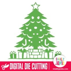TJ-SVG-christmas_tree_with_gifts_1 - SVG Cut Files
