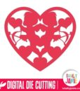 Cupids Heart - SVG Cut Files