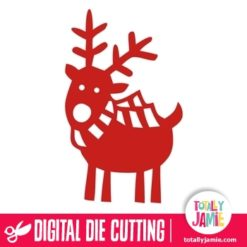 Cute Reindeer - SVG Cut Files