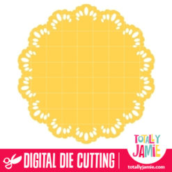 Doily Round 20 - SVG Cut Files
