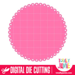 Doily Round 21 - SVG Cut Files