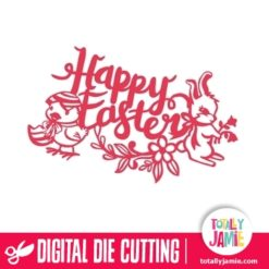 Easter Bunny Chick Flowers