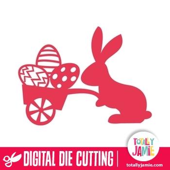Easter Egg Cart