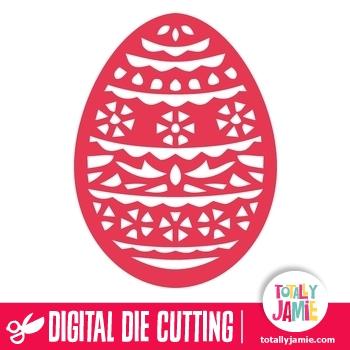 Easter Egg Filigree 2
