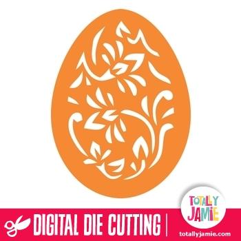 Easter Egg Filigree 3