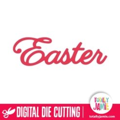 Easter Lettering Title - SVG Cut Files