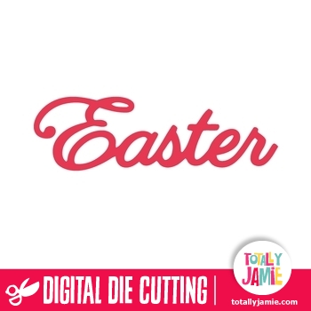 Easter Lettering Title