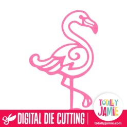 Flamingo 2 - SVG Cut Files