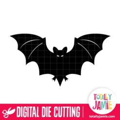 Halloween Bat 2 - SVG Cut Files
