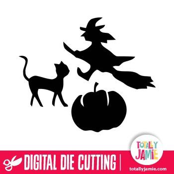 Halloween Cat Pumpkin Set