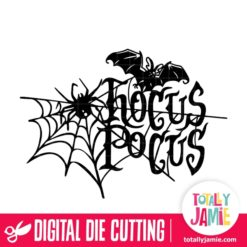 Halloween Hocus Pocus Decor - SVG Cut Files