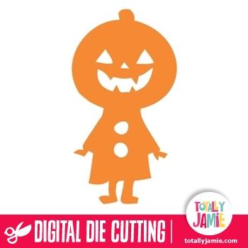 Halloween Pumpkin Man 1